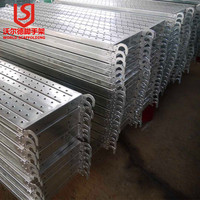 OEM accept with best price steel Scaffolding Planks With Perforated Design In Layher T4 Style for building
