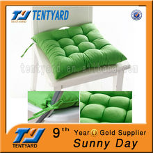 cheap fashionable hotsale single square green sofa cushion
