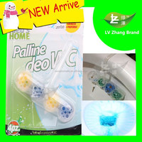New Arrive Air Freshener 4pcs With Hanging Toilet Bowl Cleaner