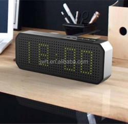 China Alibaba Clock Speaker, Mini Bluetooth Speaker Portable Wireless Car Subwoofer