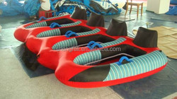 Family entertaiment water sports equipments inflatable water towable