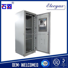IT enclosure for 42U equipment server/Waterproof IP65 metal case with air conditioner/Telecommunication cabinet SK-366