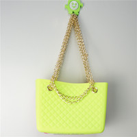 Colorful new fashion beach bag silicone jelly bag factory