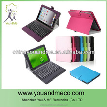 Ultra thin Wireless Bluetooth Keyboard Snap On Case Stand For Apple iPad Mini New