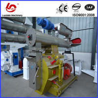 Patened wheat straw pellets production line