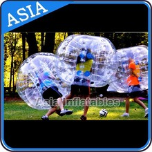 fashionable Body Inflatable Ball Suit,bubble ball football,inflatable soccer bubble for event