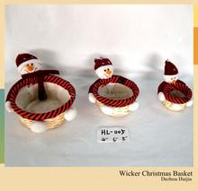 Lovely Crafts Festival Gift wicker basket Christmas Gift