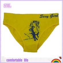 Cheap fashional ladies knitted underwears made in shantou
