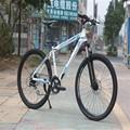 Duplo disco de freio da bicicleta, bicicleta com freio de disco, bicicleta de montanha
