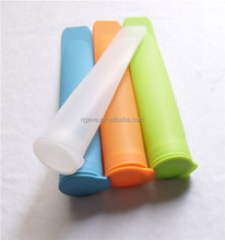BPA Free Food Grade Free Freezing & Easy Cleanup Silicone Ice Pop Molds