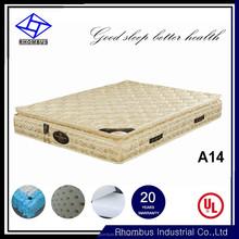 Factory Cheap Wholesale Visco Gel True Sleeper Mattress Manufacturer In China