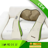 2015 Top Selling LCH Deluxe kneading shiatsu neck shoulder massage wrap for health care Shenzhen factory