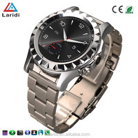 2015 New products CE ROHS led smart watch phone A8 wristwatches for men support android and ios cellphone