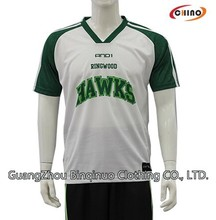 Silk Screen Basketball Uniform Wholesale