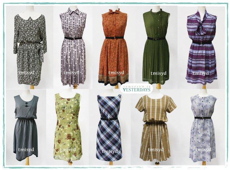 ropa vintage venta al por mayor vestidos casual