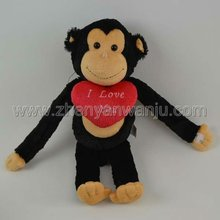Big mouth monkey with heart