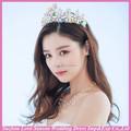 Wc0007 New fashion top quality invory venda quente bonito brilhante mulher barato princesa coroa
