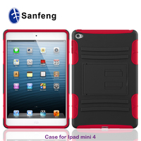 Light Weight Super Protective Convertible Stand Back Cover for Ipad mini 4 tablet case for kids