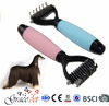 [Grace Pet] 2015 Pet Dematting Tool Cute Dog Deshedding Combs