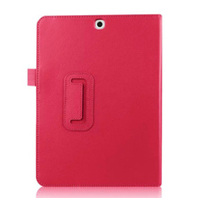 Luxury Lychee Pouch PU Leather Case With Stand For Samsung Galaxy Tab S2 9.7 T815 T810