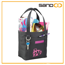 2014 Wholesale portable reusable tote shopping bags