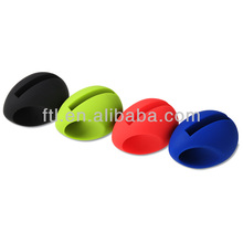 Silicone egg amplifier phone stand