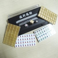 2015 hot sale mini crystal traveling mahjong sets