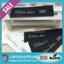 2015 Low transportation cost printed clothing label with factory price