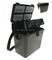 best quality plastic fishing seat box