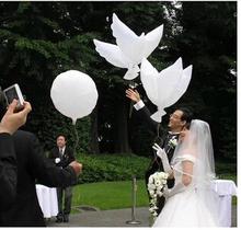 Environmental pigeon-shaped aluminium foil balloon for wedding celebration
