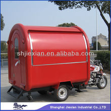 JX-FR220i Professional Gasoline Stainless Steel Outdoor Commercial Mobile Food Vending Motorcycle