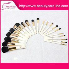 Hot sale best price salon professional cosmetic makeup brushes roll bag pouch