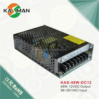 cctv power supply solar energy dc switching power supply lc power electronics best selling items KAS-48W-12