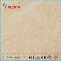 Brown color tile with shiny surface China ceramic tile