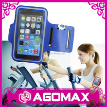 For apple iphone 6 sports armband, mobile phone sport armband case with Key