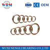 High precision single row angular contact ball bearing 7210 for Rubber joint machine