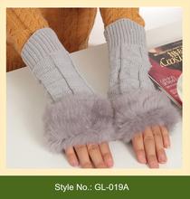 GL-019A winter fingerless cycling gloves half finger