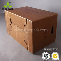 Large Wax Corrugated Paper Box for Fruit Packing Wholesale