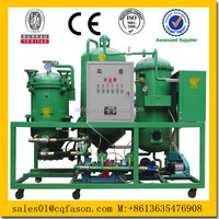 Small Scale Mobile Refinery for Producing Base Oil and Diesel Oil