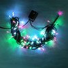 Crystal light outdoor decorative lights hanging