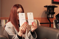 Soft touch Slim li polymer power bank 10000mah for iphone6/samsung galaxy tab