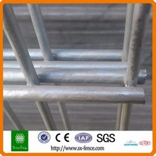 Alibaba trade assurance powder coated ornamental double loop wire fence