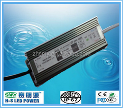 LED Driver non Dimmable 12V 5A 60W Constant voltage IP67 Waterproof