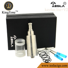 factory price and fast delivery and high quality kingzone kayfun lite+v2 atomizer rba