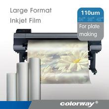 inkjet transparent film hot for 1000i printer hp 5010