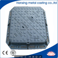 Cast iron well cover , Anti Theft Manhole Cover