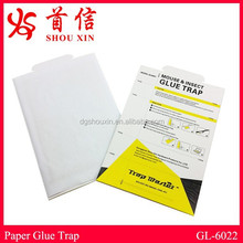 Folded paper mice glue trap fit in multi catch mouse trap rodent glue board cockroach glue trap insect board adhesive