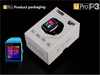 Bluetooth smart watch UPROP3 mobile phone partner,sync phone book,SMS,QQ,micro letters push function