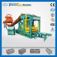 low investment big machine QTJ4-25 concrete block machine line block machine for sale