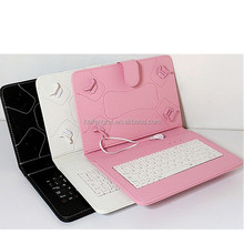 10.1 tablet leather case with keyboard for 10.1inch tablet pc